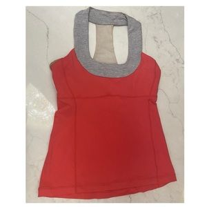 LULULEMON Scoop Me Up Tank Pink Size Approx. M